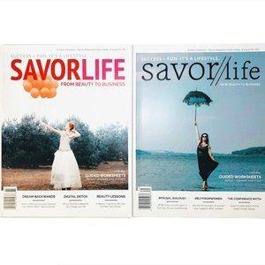 Savor Life Lifestyle magazines